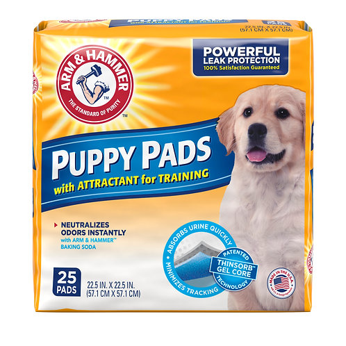 25 ct. Puppy Training Pads