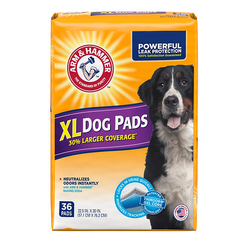 36 ct.  XL Dog Training Pads