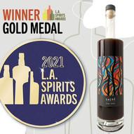 2021 L.A. Spirit Awards Gold Medal Winner