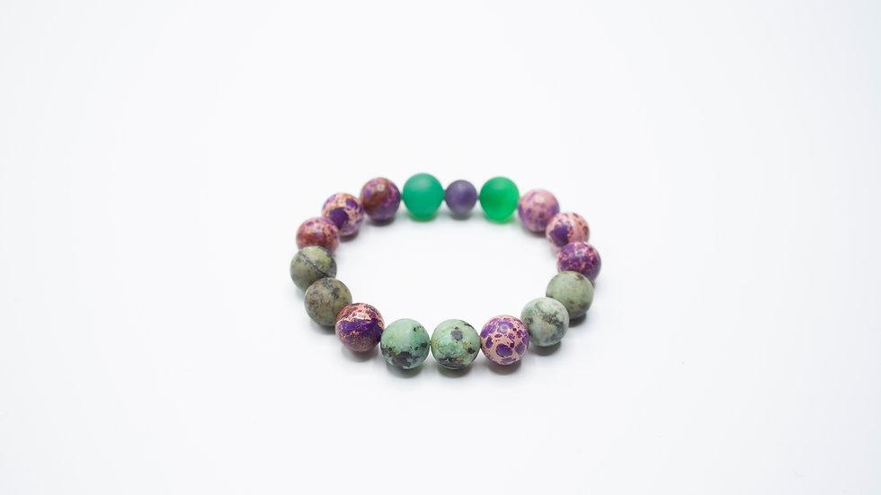 Jasper-AfricanTurquoise-Ametyst & Jade