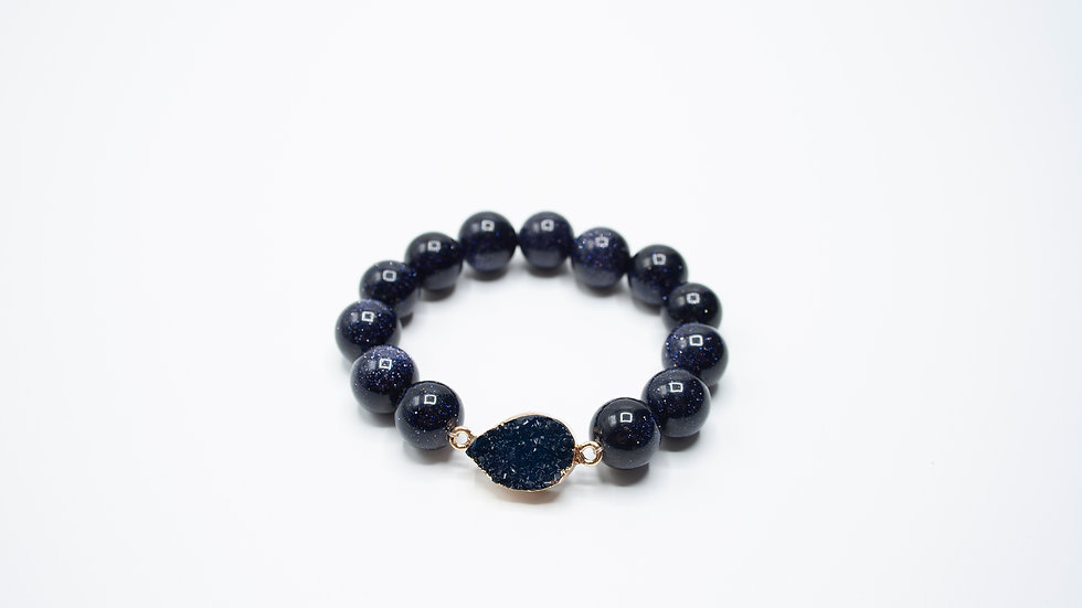 Druzy Agate Blue Sandstone
