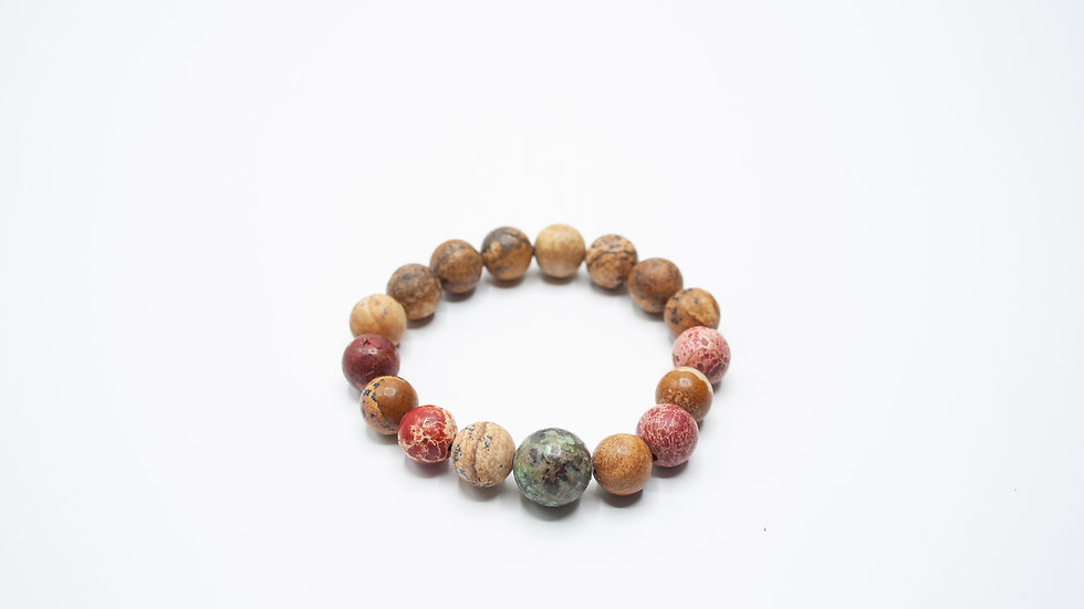 Picture Jasper African Turquoise