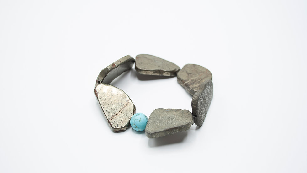 Pyrite Turquoise
