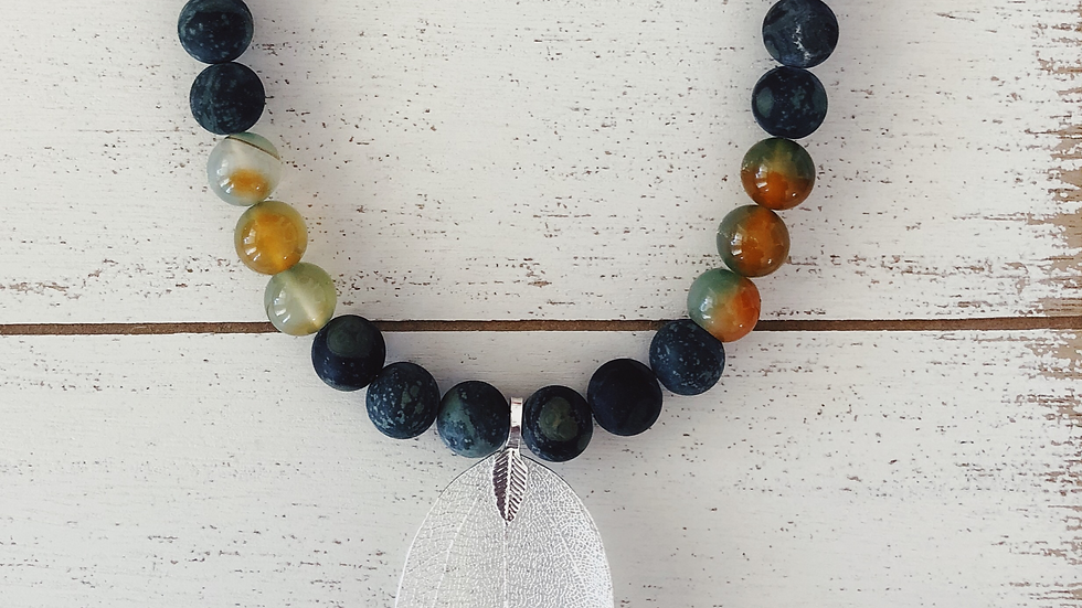 Blood Stone with Indian Agate