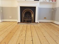 Pine Floor After