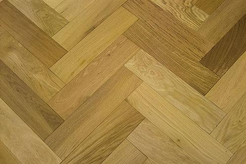Herringbone Oak Rustic Brushed & UV Oiled 14231