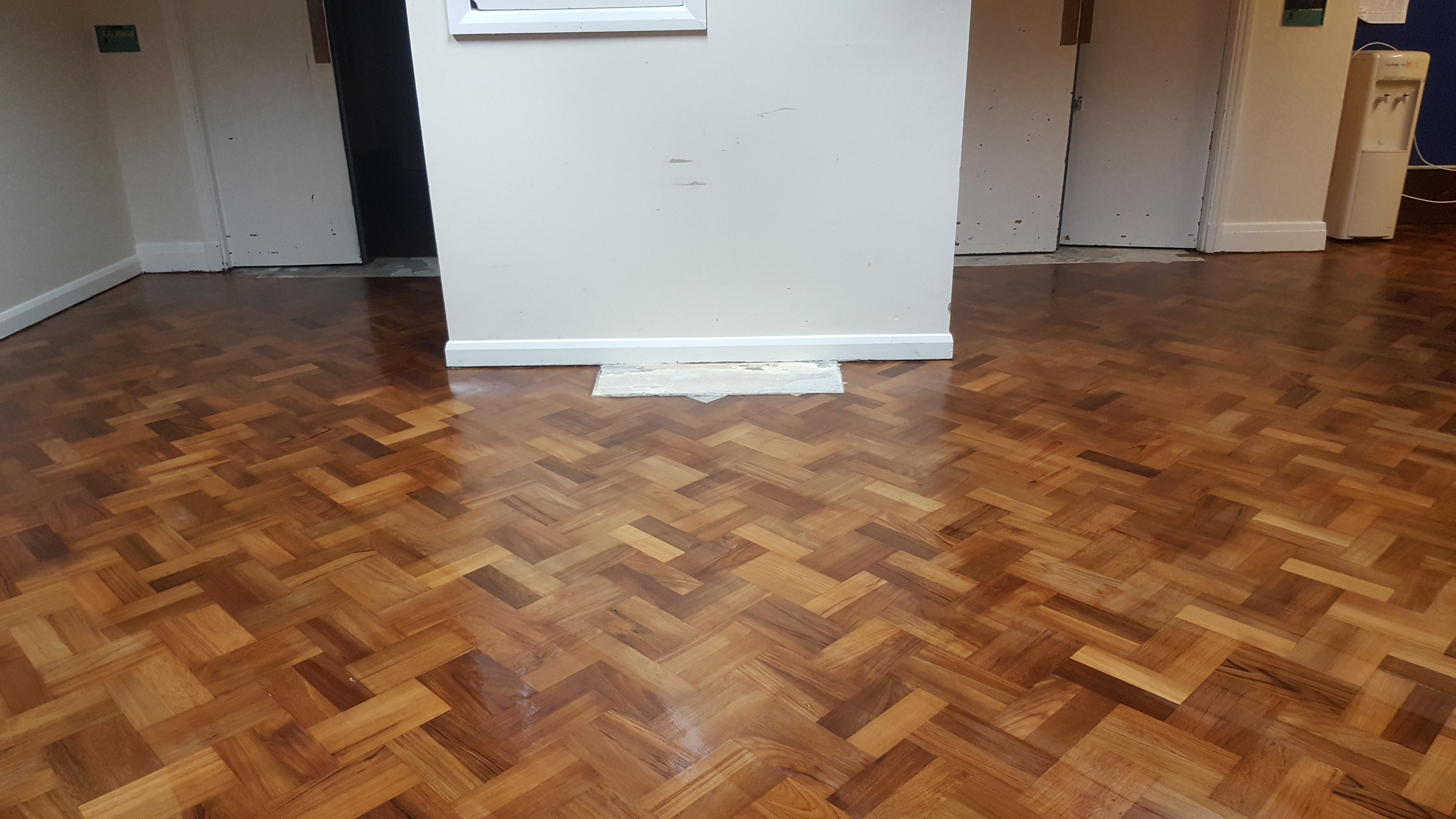Parquet Floor After