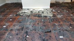 Parquet Flooring Before