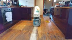 Pine Floor Before