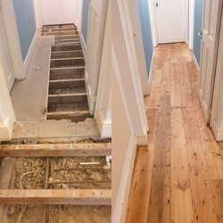 Supply and Fit reclaimed pine boards