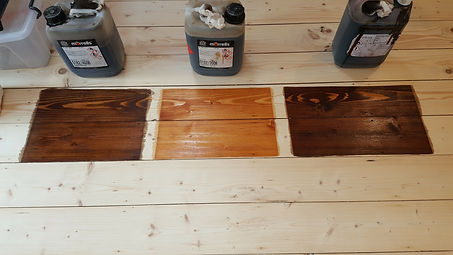 choice of beautiful floor colour stains.