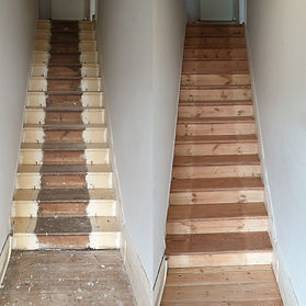 Staircase Before/After