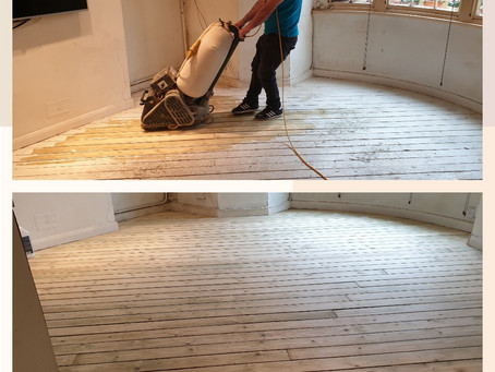 5% off Floor Sanding and Refinishing till 31st of March2019