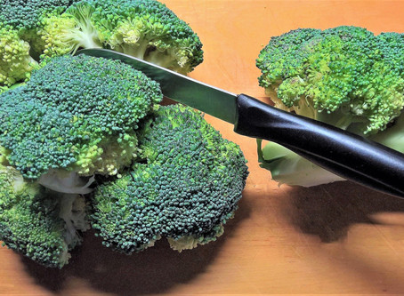 Study is Nothing Like Chopping Broccoli