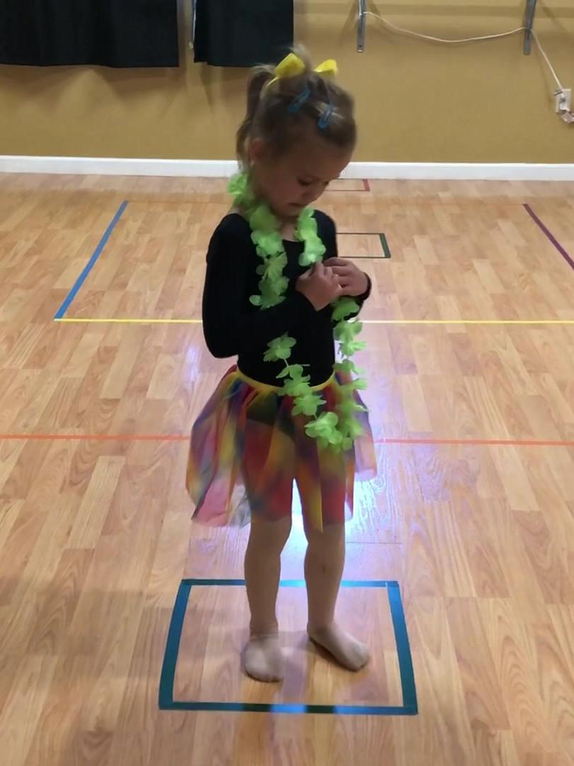 Itty Bitty Ballerina