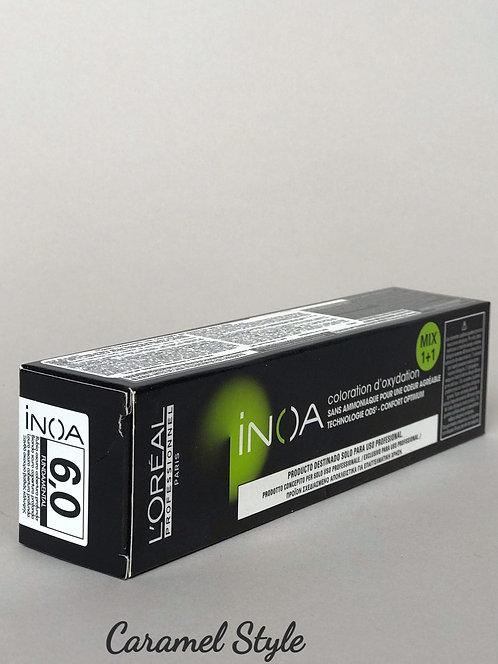 Фарба L'oreal INOA 6.0 Глибокий темно русявий 60ml