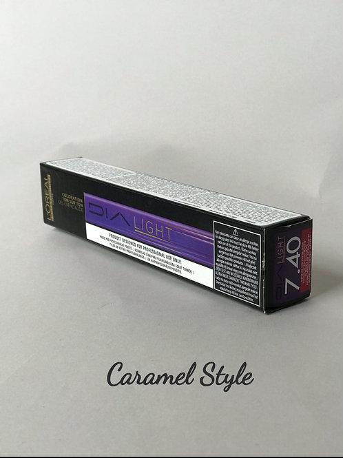 Фарба L'Oréal Professionnel Dia Light 7.40 Блондин інтенсивно мідний 50ml