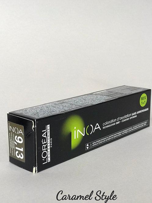Фарба L'Oréal Professionnel Inoa 9,13 Блондин бежевий попелястий 60ml
