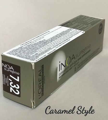Фарба L'Oréal Professionnel INOA Sup 7,23 Блондин перламутровий золотистий 60ml
