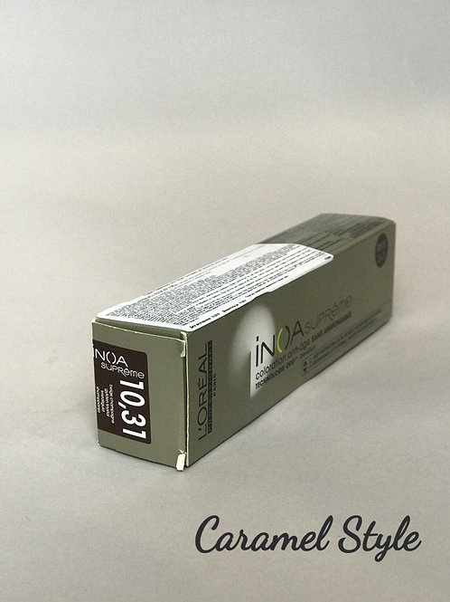 Фарба L'Oréal Professionnel INOA Suprime 10.31 Дуже світл. блонд зол.-поп 60ml