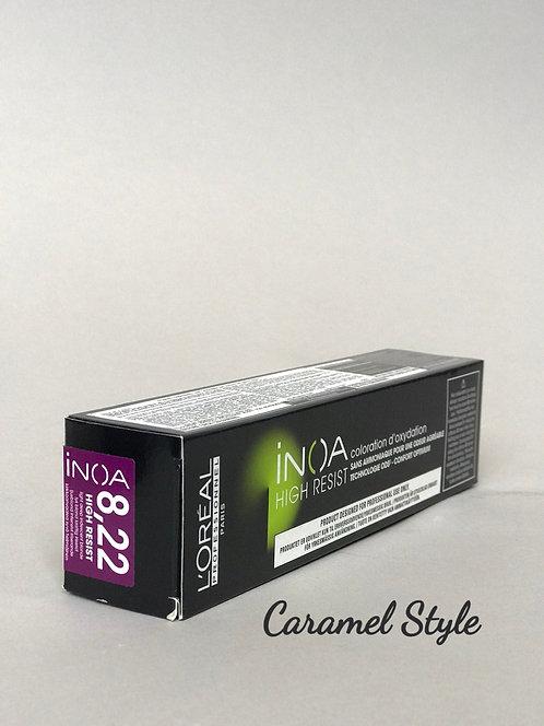 Фарба L'Oréal Professionnel Inoa 8,22 Світлий блондин перламутровий 60ml