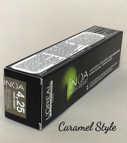 Фарба L'Oréal Professionnel INOA 4,25 Шатен перламутровий червоний 60ml