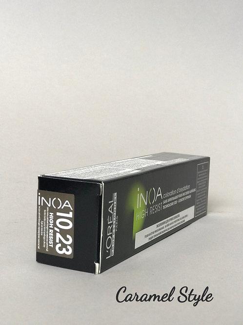 Фарба L'Oréal Professionnel INOA 10.23 Дуже дуже світлий блонд перлам.-зол. 60ml