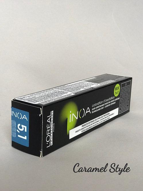 Фарба L'oreal Professionnel Inoa 5.1 Світлий шатен попелястий 60ml