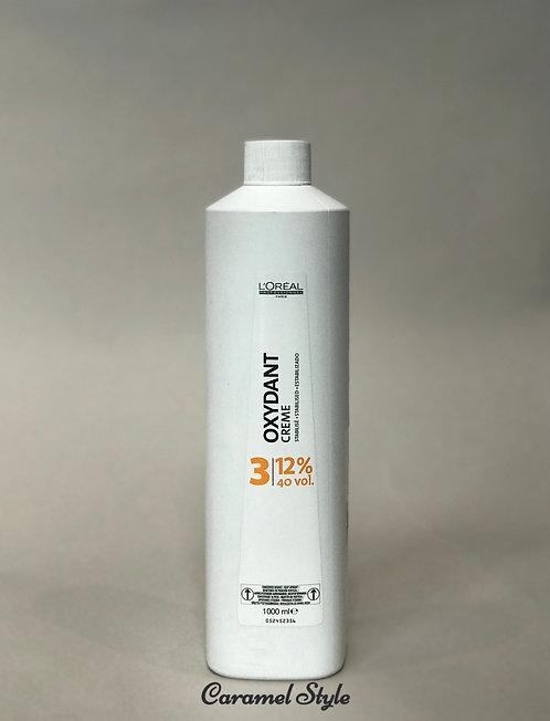 Косметичний крем пероксид L'Oreal Professionnel Oxydant 3 (12%) 1000ml