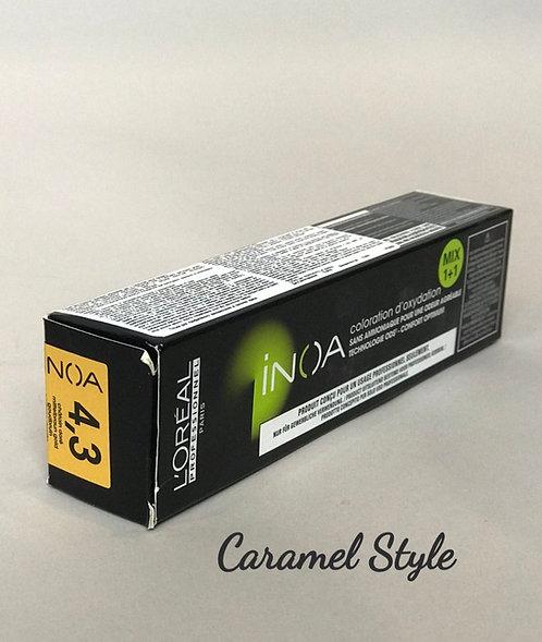 Фарба L'Oréal Professionnel INOA 4,3 Каштановий золотистий 60ml
