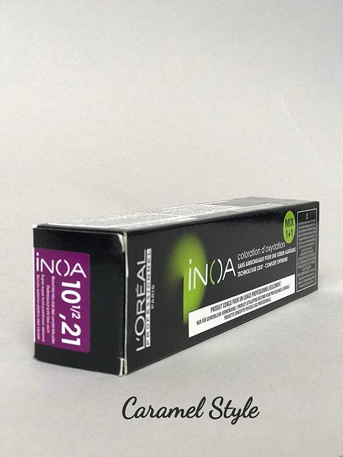 Фарба L'Oréal Professionnel INOA 10.211/2 Супер світлий жемчуж-попелястий  60ml