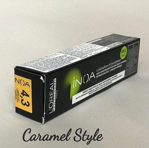 Фарба L'Oréal Professionnel INOA 4.3 Шатен золотистий 60ml