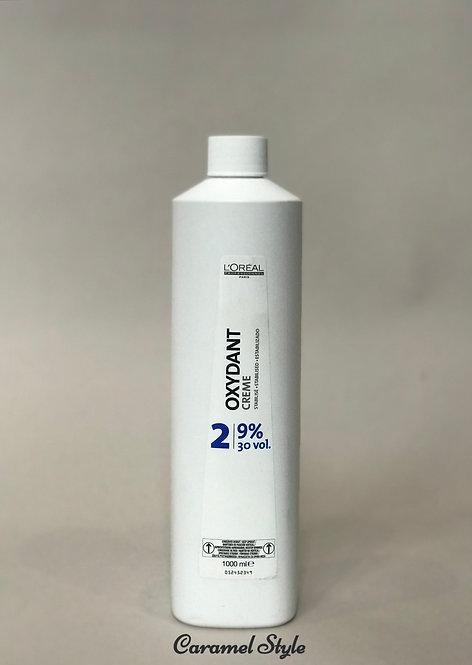 Косметичний крем пероксид L'Oreal Professionnel Oxydant 2 (9%) 1000 ml