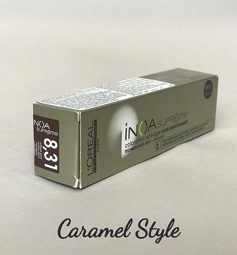 Фарба L'Oréal Professionnel INOA Suprime 8.31 Світлий блонд золот.-попел 60ml