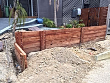 Retaining walls by gtss handyman services Frankston , Melbourne