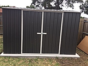 Flat pack shed assembly call gtss handyman services Frankston