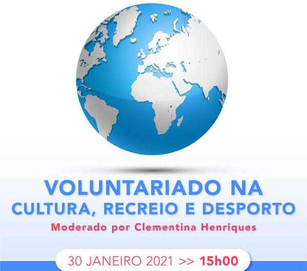 3ª Sessão de Debate: Voluntariado na Cultura, Recreio e Desporto