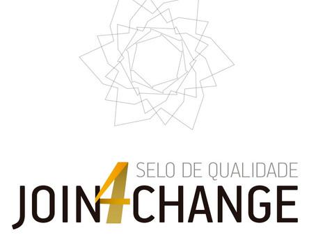 Selo de Qualidade em Voluntariado Join4Change®