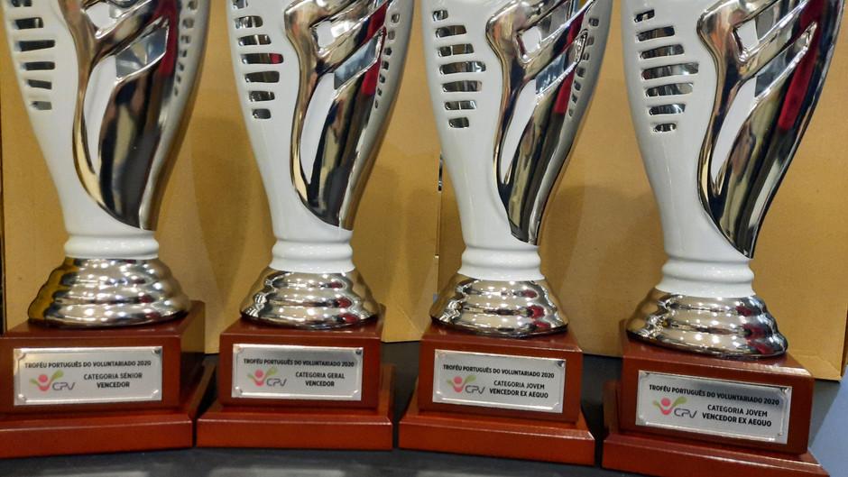 Vencedores do Troféu Português do Voluntariado 2020