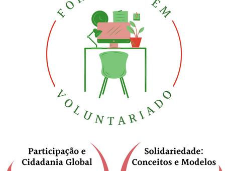 CPV lança 12 Sessões Online de Formação em Voluntariado | Inscreva-se para 16 de junho e 6 de julho