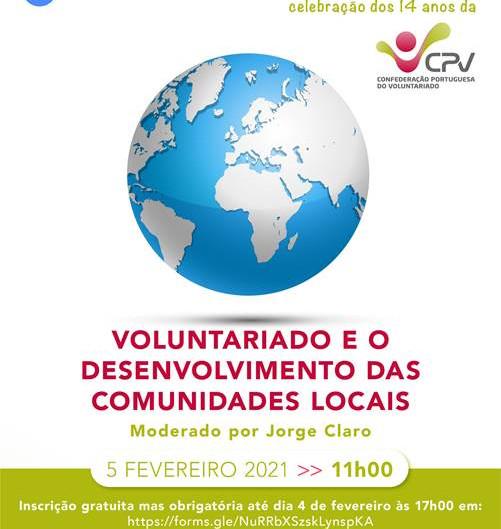 5ª Sessão de Debate: Voluntariado e o Desenvolvimento das Comunidades Locais