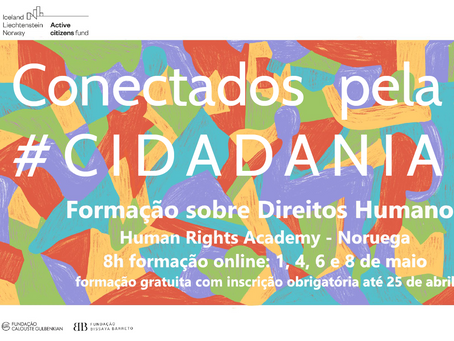 Formação sobre Direitos Humanos | Human Rights Academy | 1, 4, 6 e 8 de maio
