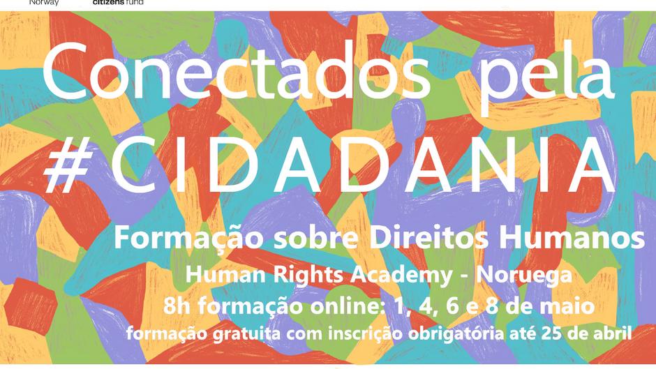 Formação sobre Direitos Humanos   Human Rights Academy   1, 4, 6 e 8 de maio