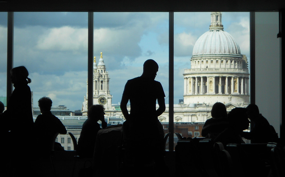 View from the Tate Modern by Charlotte Araya Moreland