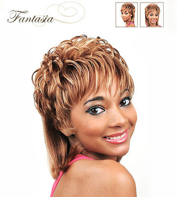 Junee Fashion Manhattan Synthetic Fantasia Wig