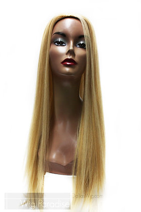 West Bay Sepia Human 3/4 H Tiara Fall Wig