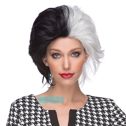 West Bay Sepia Synthetic Wicked Wig