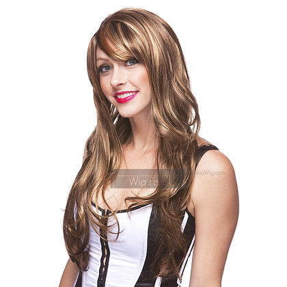 West Bay Sepia Synthetic Carmen Wig