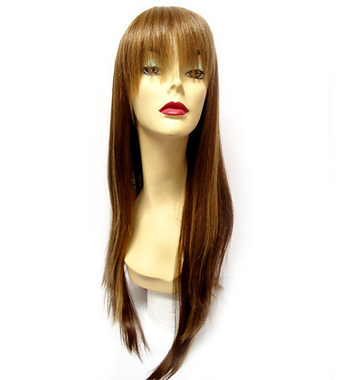 West Bay Sepia Human H-Teresa Wig