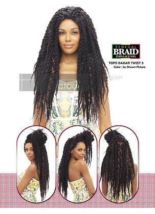 Vanessa Tops Dakar Twist 3 Lace Front Wig